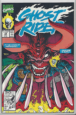 Ghost Rider #19 Nm/mint 9.8 : 1990 Series : Send This Book To Cgc!