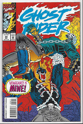 Ghost Rider #39 Nm/mint 9.8 : 1990 Series : Send This Book To Cgc!