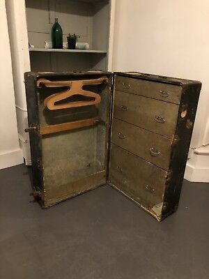 Vintage Valise Trunk Travel Wardrobe