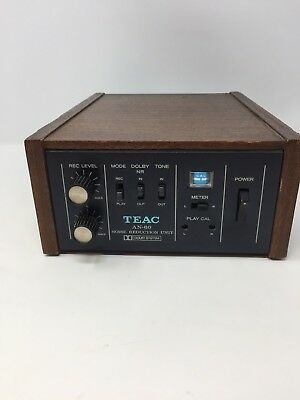 TEAC AN-50 DOLBY Noise Reduction Unit For Any Reel To Reel