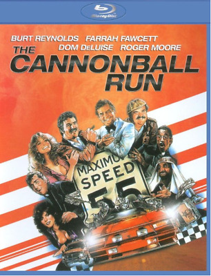 Cannonball Run (Blu-ray) • NEW  Burt Reynolds, Farrah Fawcett