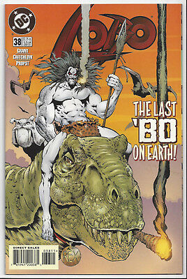 Lobo #38 (1993 Ongoing Series)  Nm/mint 9.8 :send This Book To Cgc! Hard To Find