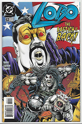 Lobo #62 (1993 Ongoing Series)  Nm/mint 9.8 : Send This To Cgc!  ~ Hard To Find