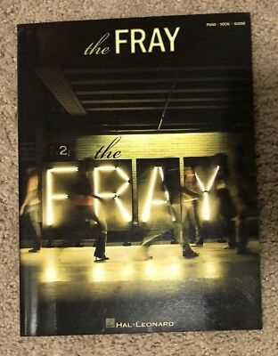 NEW THE FRAY How to Save a Life Piano Vocal Guitar Songbook Sheet ...