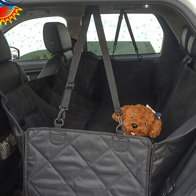 Pet Back Seat Cover Dog Car Seat Cover Waterproof Nonslip Rubber Protector Mat