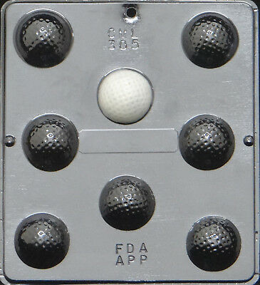 Golf Ball Assembly Chocolate Candy Mold 305 NEW
