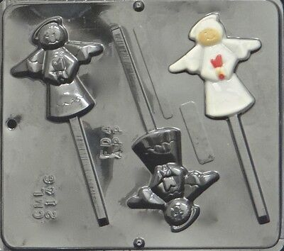 Angel Lollipop Chocolate Candy Mold Christmas 2146 NEW
