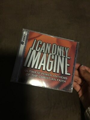 I Can Only Imagine Ultimate Power Anthems of the Christian Faith CD New A284