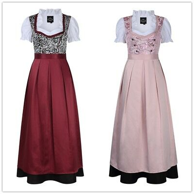 Traditional Oktoberfest Dirndl Fancy Dresses Costume German Girl Beer Festival