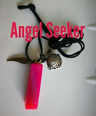Code 616 ANGEL BABY SEEKER Onyx Infused Necklace Virtue Certified Practitioner
