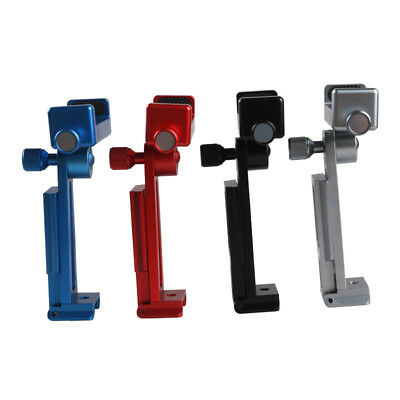 CNC Tripod Stand Camera Mount Monopod Mobile Phone Clip Holder for Smartphone
