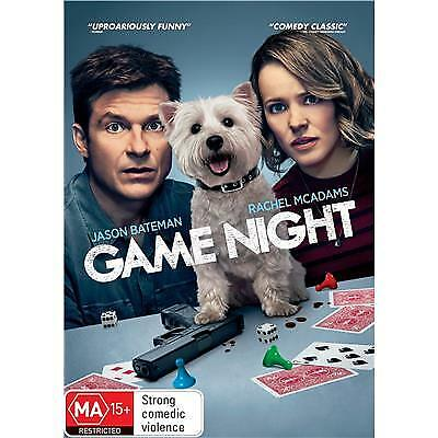 Game Night Dvd, New & Sealed, Region 4, 2018 Release, Free Post
