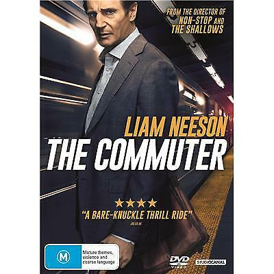 The Commuter Dvd, New & Sealed, 2018 Release, Region 4, Free Post