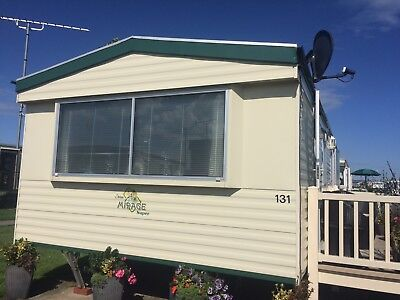 Static Caravan For Hire 3 Bedroom Owens Towyn North wales 20th-27th Oct C/H