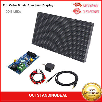 MS3264 V3 digital Level Music Spectrum Display LED Audio Amplifier Analyzer os12