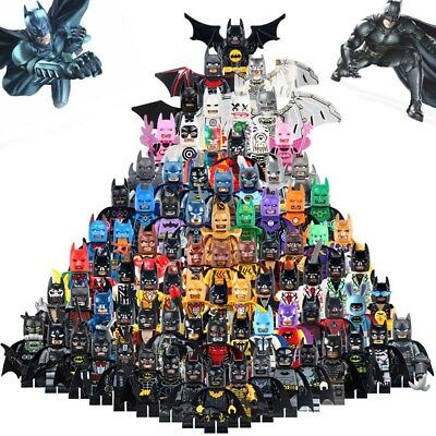 Batman Mini Figures NEW UK Seller Fits Major Brand Blocks Bricks Deathstroke