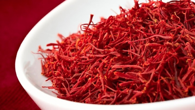 Organic Premium highest quality Saffron threads- All Red 5g