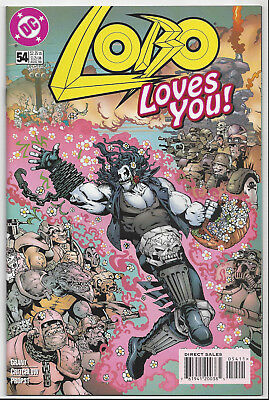 Lobo #54 (1993 Ongoing Series)  Near Mint+ 9.6  ~ Hard To Find