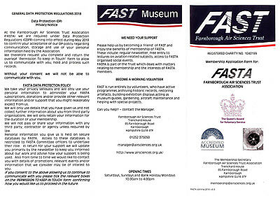 FAST Association Membership for 1 Year - Concessions - support the work of FAST!