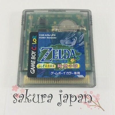 The Legend of Zelda The Wonder of the Wonderland Space-time Chapel GBC F/S