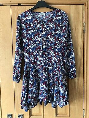 Next Floral Long Sleeve Playsuit Age 13
