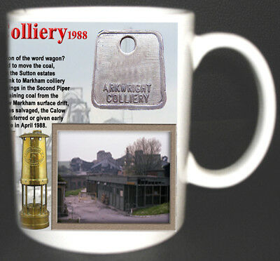 Arkwright Colliery Coal Mine Mug. Limited Edition Gift Miners Derbyshire Pit