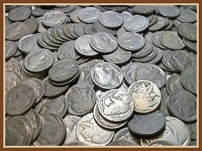 "1 No Date Buffalo Nickel, Vintage Coins ""Buy 10 get 5 FREE!"""