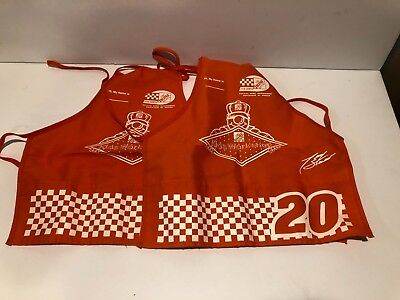 2 Home Depot Kids Workshop Apron NASCAR