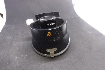 Leitz Wetzlar Ortholux 4 Place Microscope Nosepiece 1.25x W 170/223 turret parts