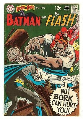 Brave And The Bold 81   Batman & Flash   Neal Adams