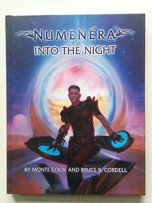 "Numenera ""Into the Night"" Quellenbuch *wie neu*"