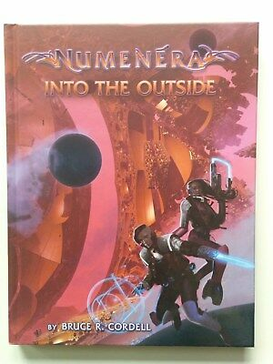 "Numenera ""Into the Outside"" Quellenbuch *wie neu*"
