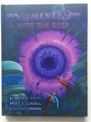 "Numenera ""Into the Deep"" Quellenbuch *wie neu*"