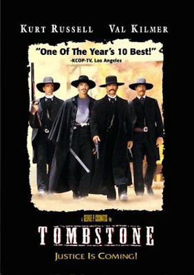 Tombstone Dvd - Single Disc Edition - New Unopened - Kurt Russell