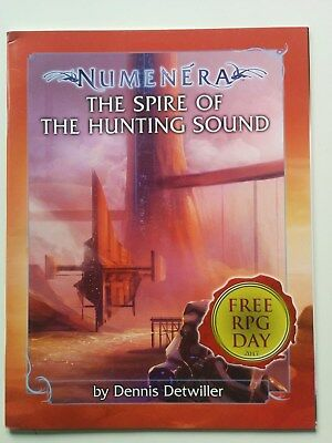 "Numenera Free RPG Day 2017 Promo Abenteuer ""The Spire of the hunting Sound"""