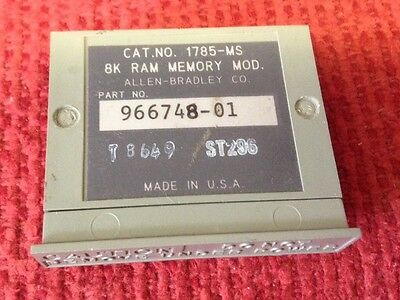 ALLEN-BRADLEY - Cat. #1785-MS - 8K RAM MEMORY MODULE - Part #966748-01