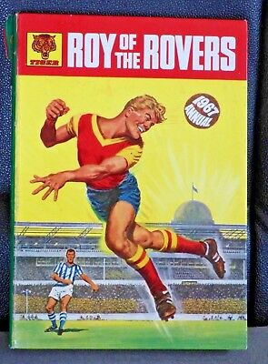 Roy of the Rovers Annual 1967 Tiger