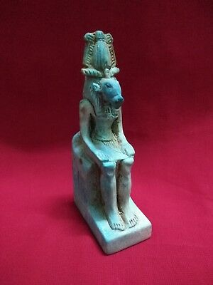 Ancient Egyptian Statue of God Khnum ( 11th century BC )