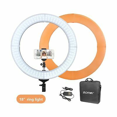 ZOMEI Camera Photo/Video Outer 240 Pieces LED SMD Ring Light 5500K Dimmable Ring
