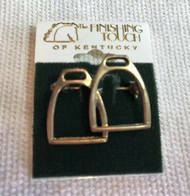 The Finishing Touch Of Kentucky English Stirrup Irons Pin