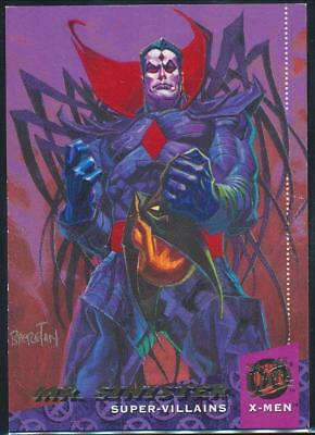 1994 X-Men Ultra Trading Card #56 Mr. Sinister