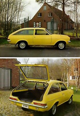 Vauxhall Viva Deluxe Estate Brochure. J.3069 Fl/d 950074-6-17 Em 06.74 (Dutch)