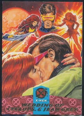1994 X-Men Ultra Trading Card #125 The Wedding of Cyclops and Jean Grey (Part 2)