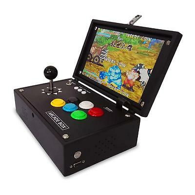 box 6S arcade game machine with 10 inch LCD and built in 1388 game motherboard