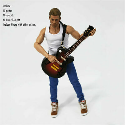 1/6 Scale Brown Electric Guitar Model Fit 12'' Body Action Figure Hot Toys Gift