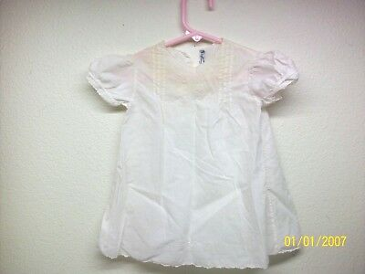 Vintage Handmade Baby or Doll Gown Made In Philippines 18 mths