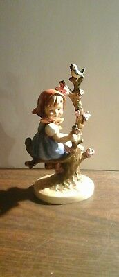 "Goebel Hummel Figurine ""Apple Tree Girl"" 4.25"""