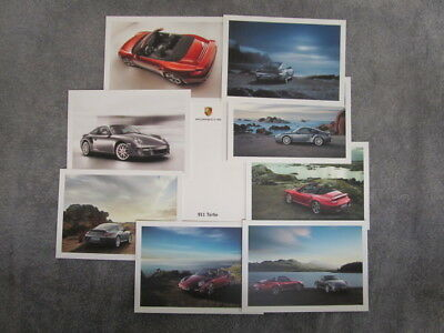 Porsche 911 (997.2) Turbo Set of 8 Postcards. Official Porsche. NEW