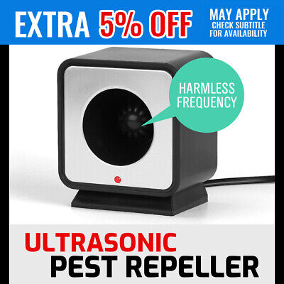 Ultrasonic Pest Repeller Solar Power Animal Repellent Rats Mouse Ants Spider