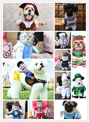 NEW Pet supplies dog clothing pirate clothing standing clothing polymorphs